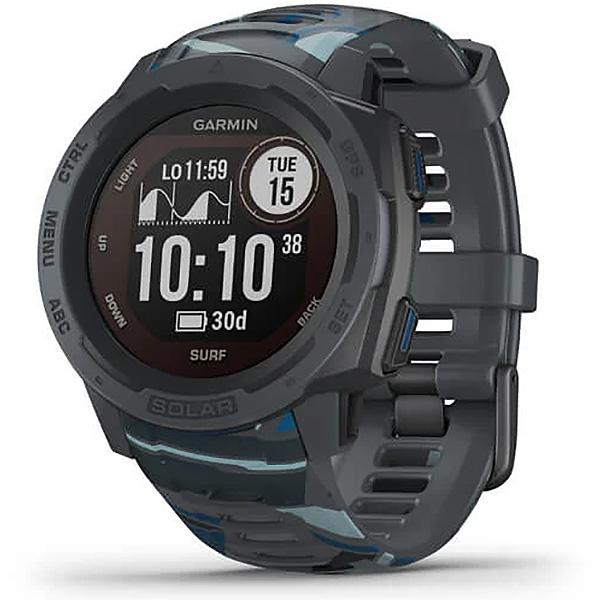 Garmin Instinct Solar Pipeline Surf Edition GPS Watch 010-02293-17