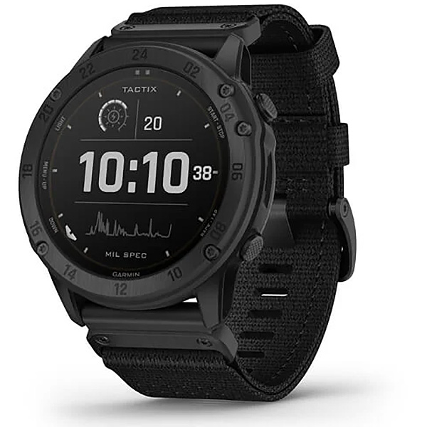 Garmin Tactix Delta Solar-Powered Tactical GPS Watch 010-02357-10
