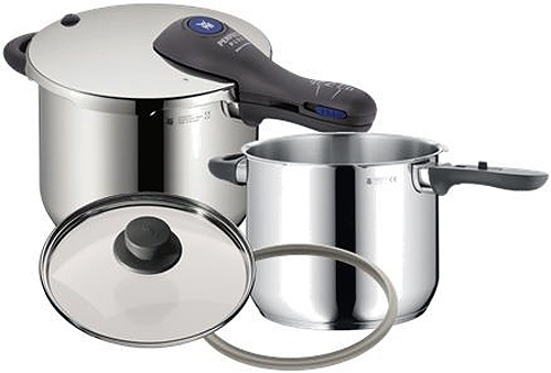 WMF Stainless Steel Perfect Plus Pressure Cooker Set