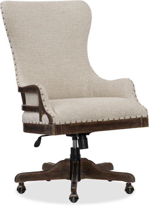 Hooker Furniture Home Office Roslyn County Deconstructed Tilt Swivel Chair