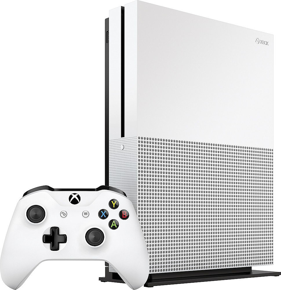 Microsoft Xbox One S 2TB White Game Console