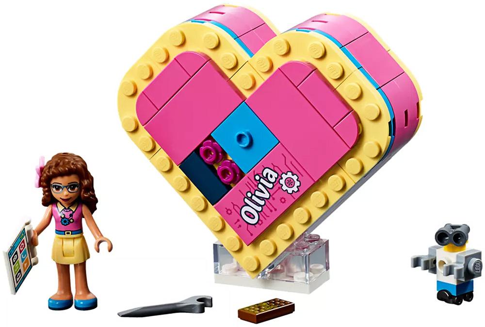 LEGO Friends Olivias Heart Box