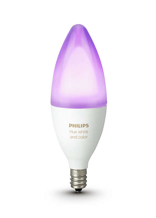 Philips Hue E12 White And Color Ambiance Light Bulb 468900