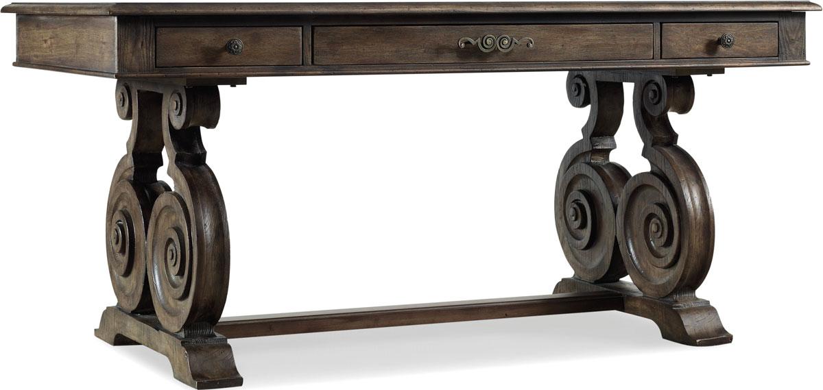 Hooker Furniture Reclaimed Natural Home Office Rhapsody Writing Desk