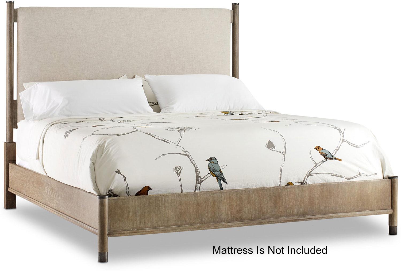 Hooker Furniture Bedroom Affinity California King Upholstered Bed