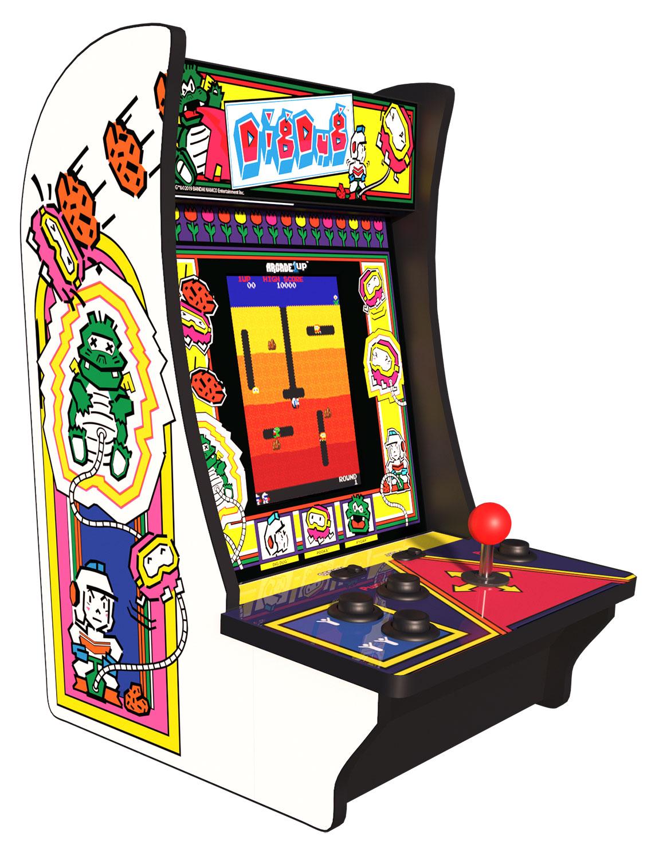 Arcade1Up Dig Dug Countercade Machine - 815221026889