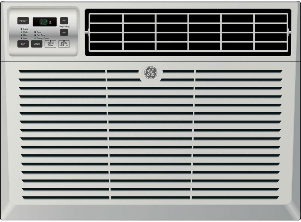 GE 6,000 BTU 12.1 EER 115V Window Air Conditioner