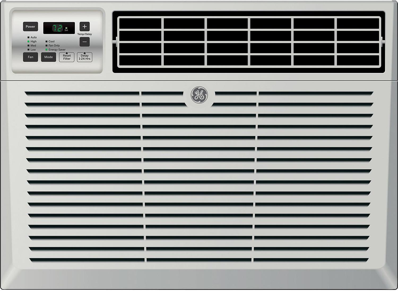 GE 14,000 BTU 11.8 EER 115V Electronic Room Window Air Conditioner