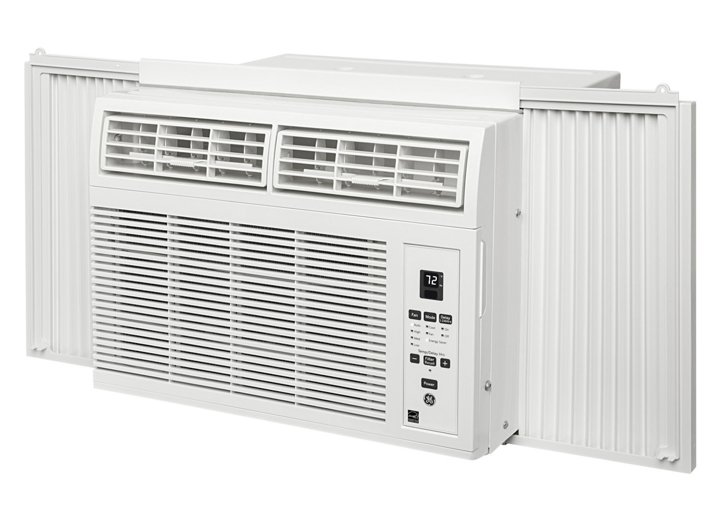 Ge 8 000 Btu 12 1 Eer 115v Window Air Conditioner Ahm08lw