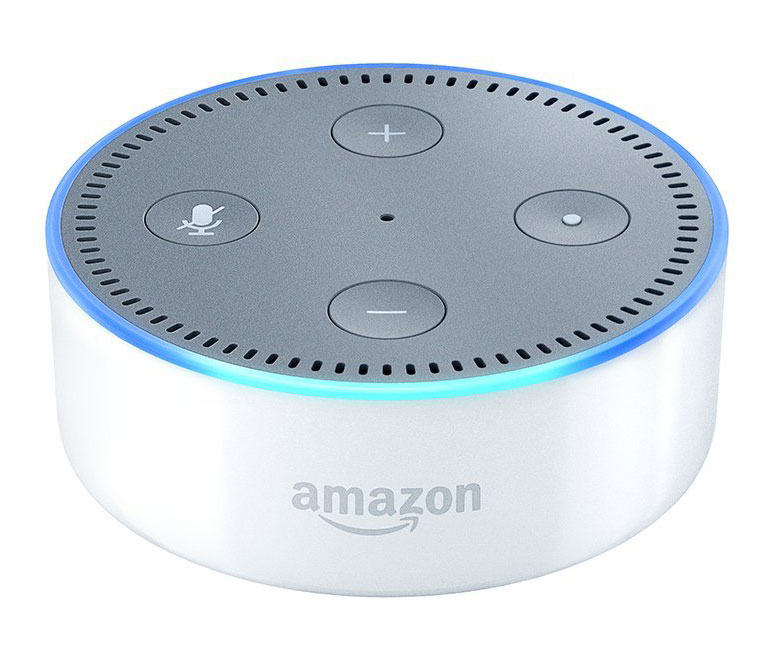 amazon echo dot white bluetooth speaker b015tjd0y4. Black Bedroom Furniture Sets. Home Design Ideas