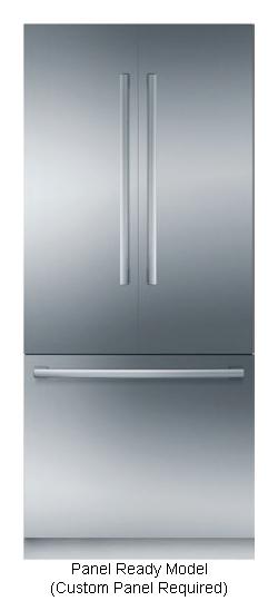 Bosch Benchmark Built In French Door Refrigerator B36it900np