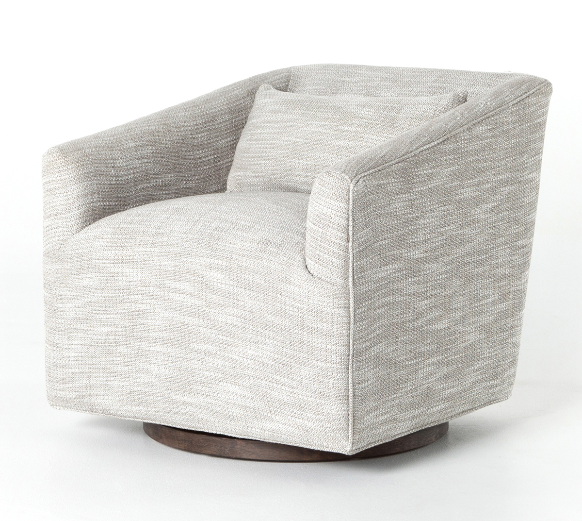 Four Hands Kensington Monterry Pebble York Swivel Chair