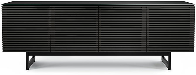 Bdi Corridor 8179 Charcoal Tv Console Corridor8179crl