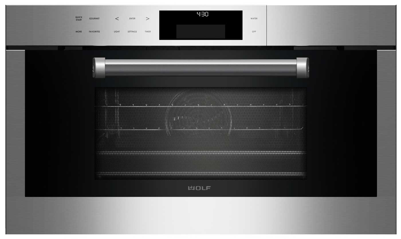 Wolf 30 Quot Professional Convection Steam Oven Cso30pe S Ph