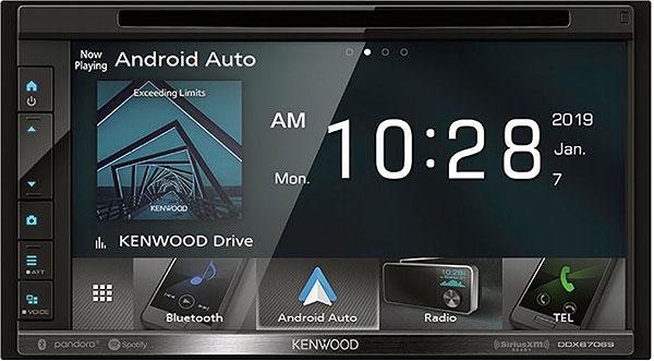 Kenwood eXcelon In-Dash Bluetooth DVD Receiver DDX-6906S