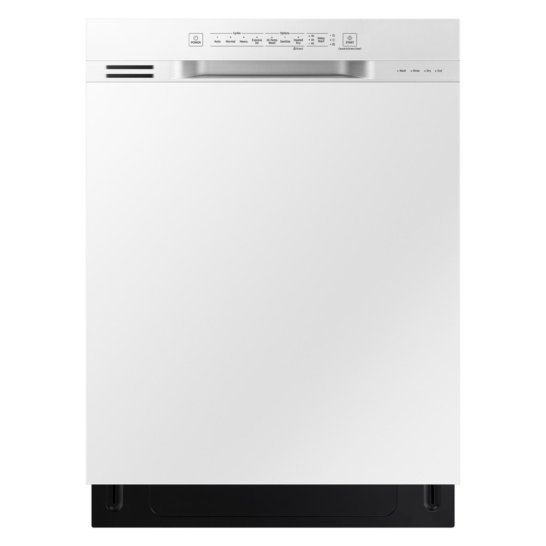 Samsung 24     Built-In White Dishwasher DW80N3030UW/AA