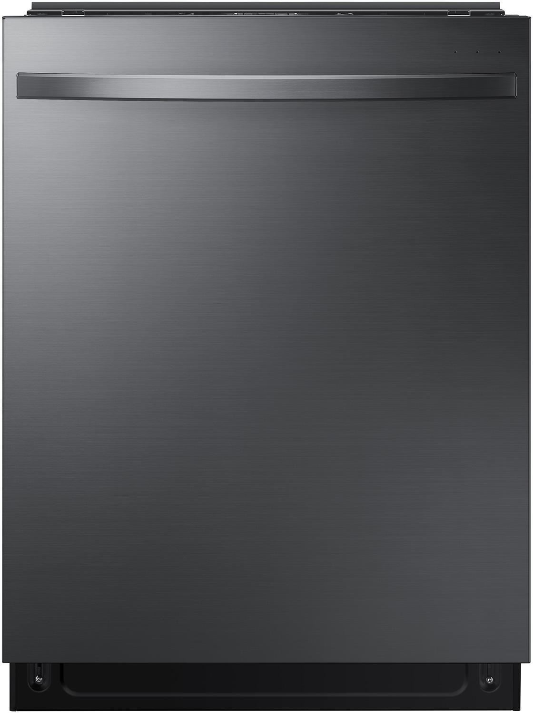 Samsung DW80R7061UG 24 Fingerprint Resistant Black Stainless Steel Built-In Dishwasher
