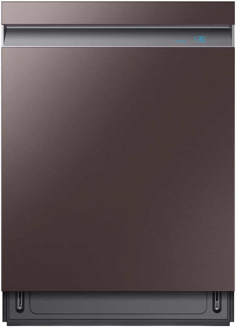 Samsung 24     Built-In Fingerprint Resistant Tuscan Stainless Steel Dishwasher DW80R9950UT/AA