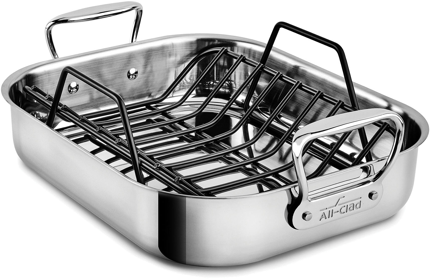 All Clad Stainless Roasting Pan With Rack E752s264