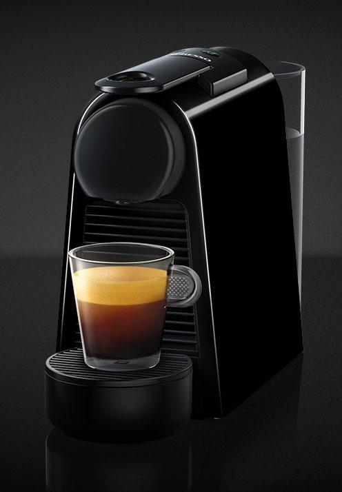 Nespresso Piano Black Essenza Mini Espresso Machine
