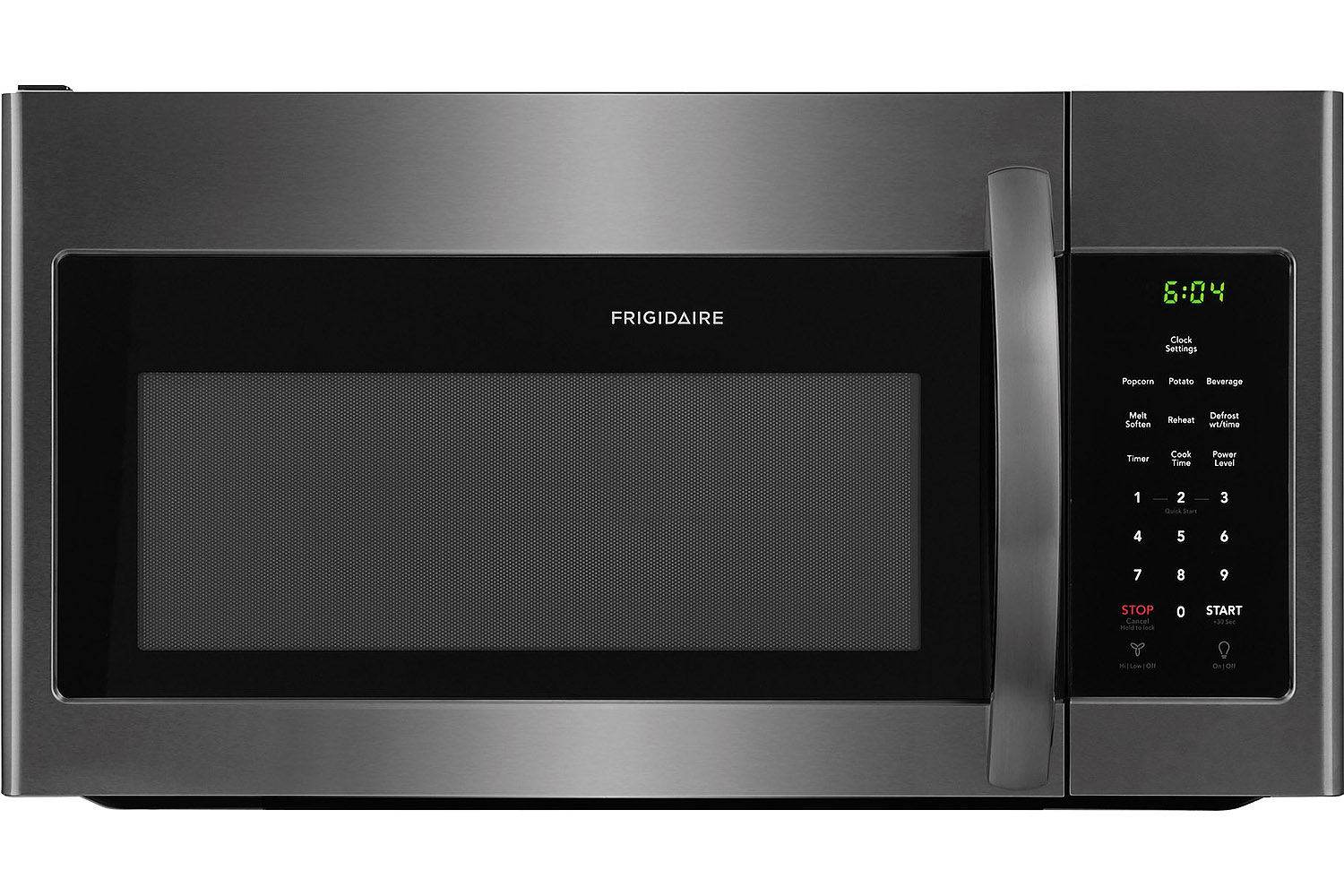 Frigidaire Black Stainless Over The Range Ffmv1645td
