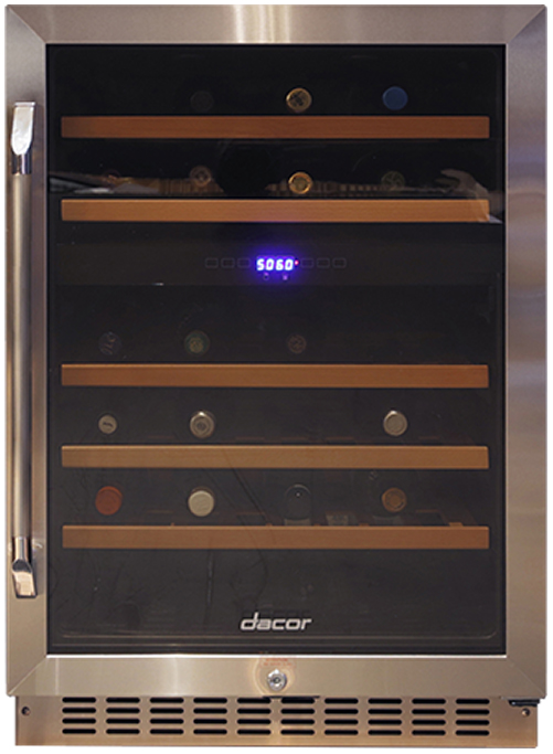 Dacor Heritage 24 Single Zone Right Hinge Wine Cellar