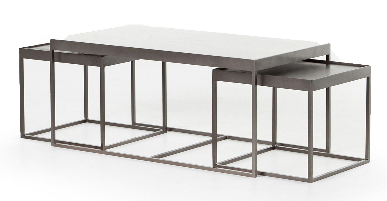 Four Hands Rockwell Collection Evelyn Nesting Coffee Table