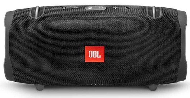 jbl xtreme 2 black portable bluetooth speaker jblxtreme2blkam. Black Bedroom Furniture Sets. Home Design Ideas
