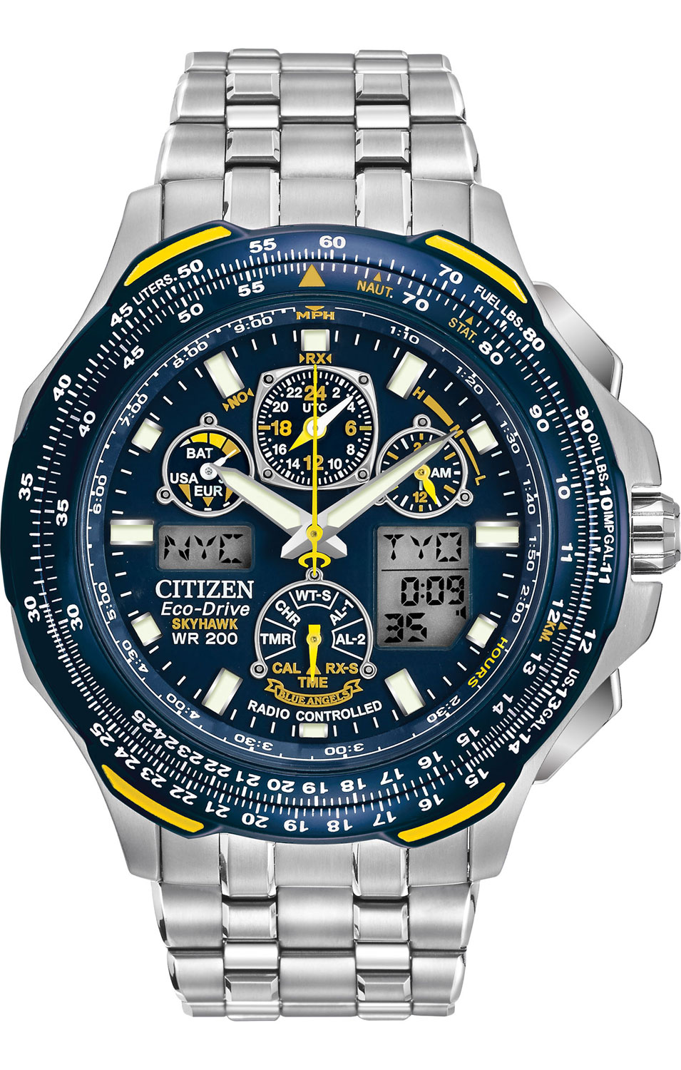 Citizen Eco-Drive Blue Angels Mens Watch