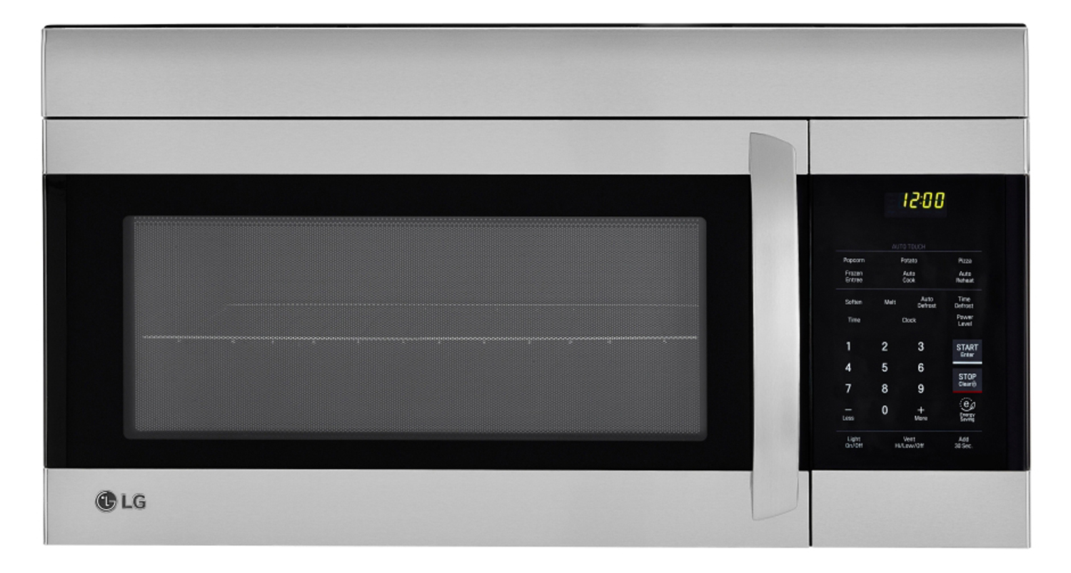 Lg Stainless Steel Over The Range Microwave Oven Lmv1762ss