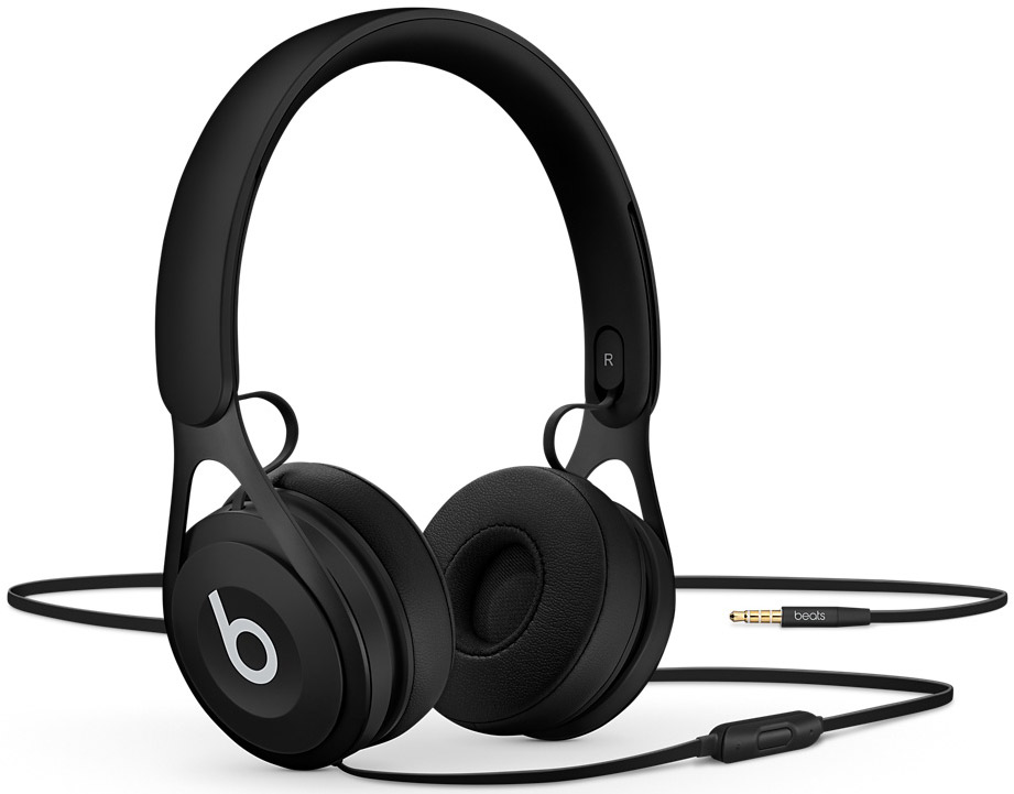 Beats By Dr. Dre EP Black On-Ear Wired Headphones