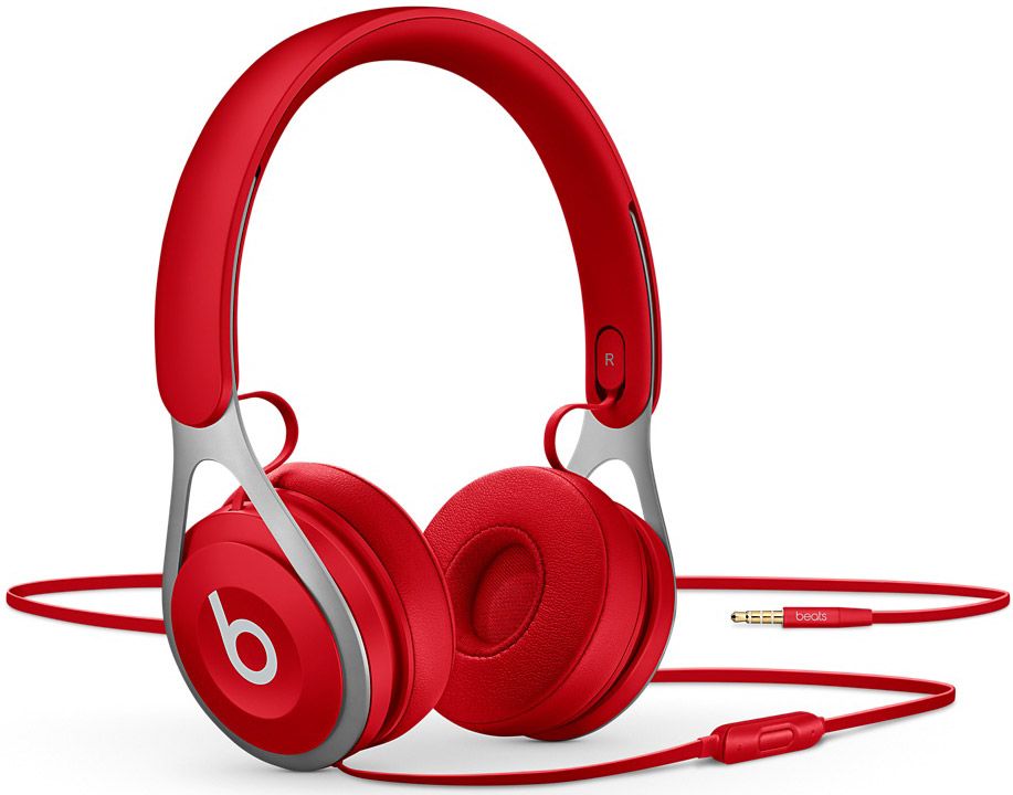 Beats By Dr. Dre EP Red On-Ear Wired Headphones