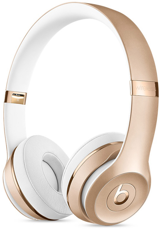 Beats By Dr. Dre Solo3 Gold Wireless On-Ear Headphones