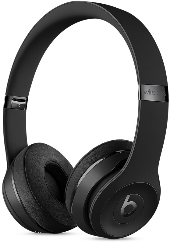 Beats By Dr. Dre Solo3 Black Wireless On-Ear Headphones