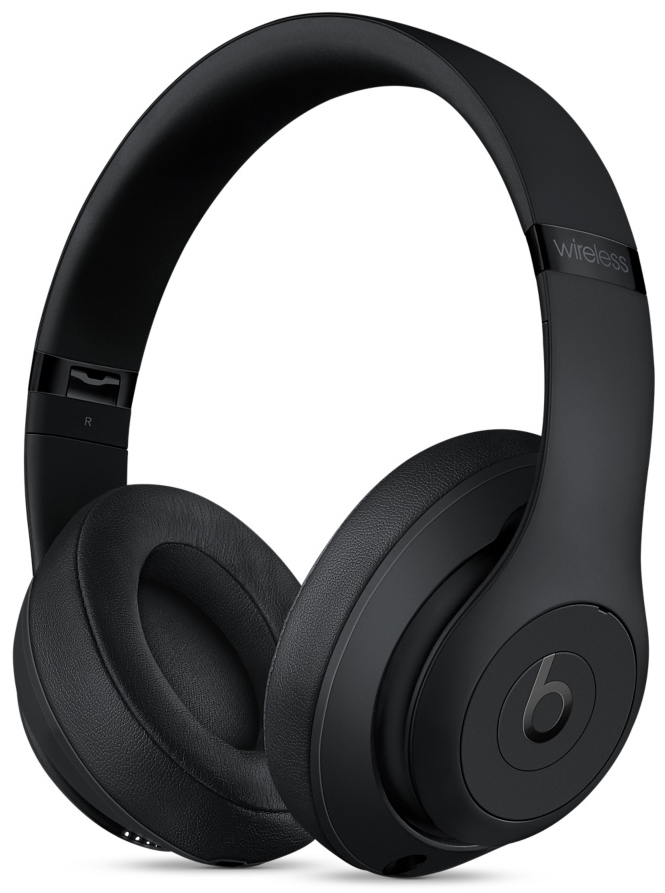 Beats By Dr. Dre Matte Black Studio3 Wireless Over-Ear Headphones