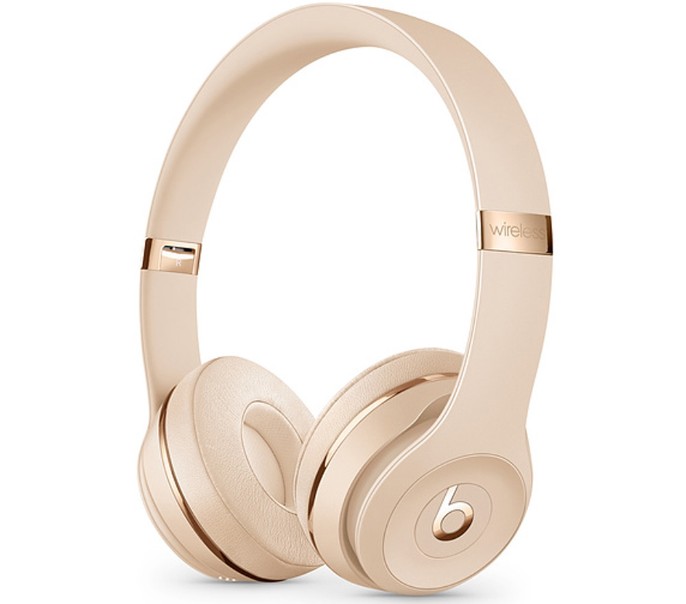 Beats By Dr. Dre Beats Solo3 Satin Gold On-Ear Headphones