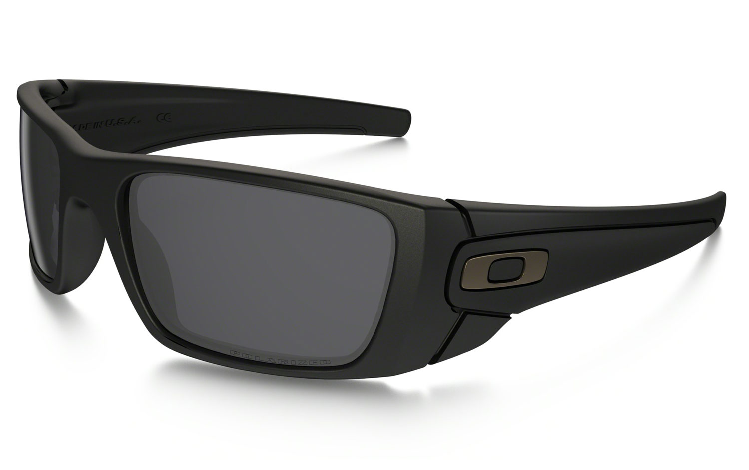 584ac97125c Oakley Polarized Matte Black Mens Sunglasses - OO9096-05