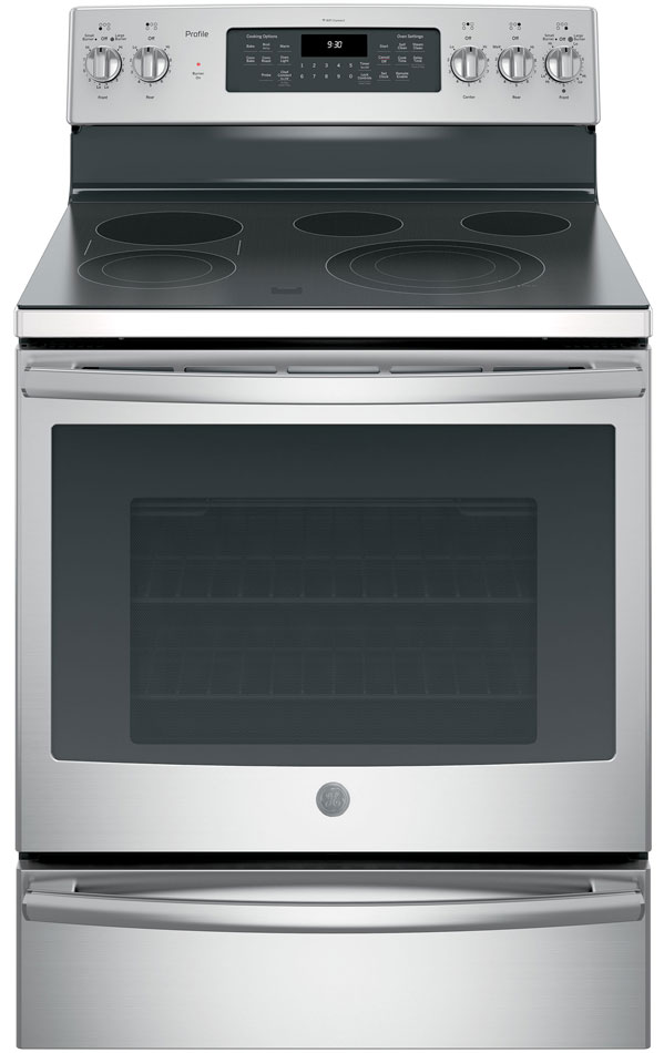 GE 30 Free Standing Stainless Steel Electric Convection Range