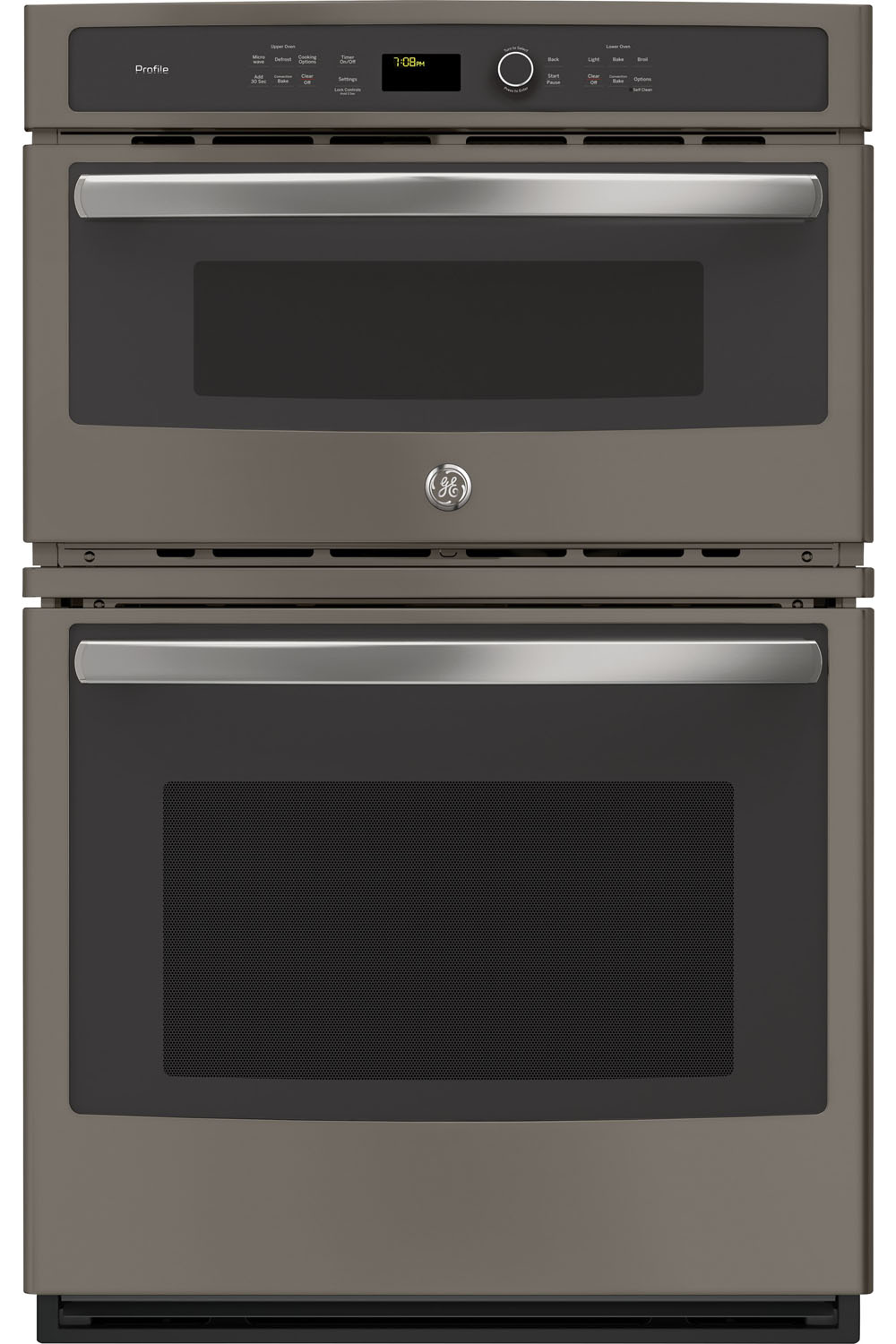 "GE Profile 27"" Slate Built-In Convection Combination Micr..."