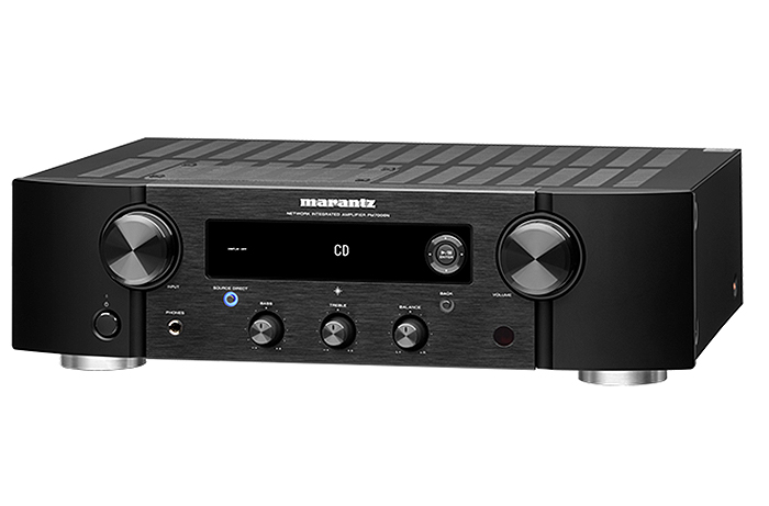 Integrated Stereo Hi-Fi Amplifier   HEOS Built-in   Supports Digital & Analog Sources   Compatible with Amazon Alexa   Phono Input - Marantz PM7000N