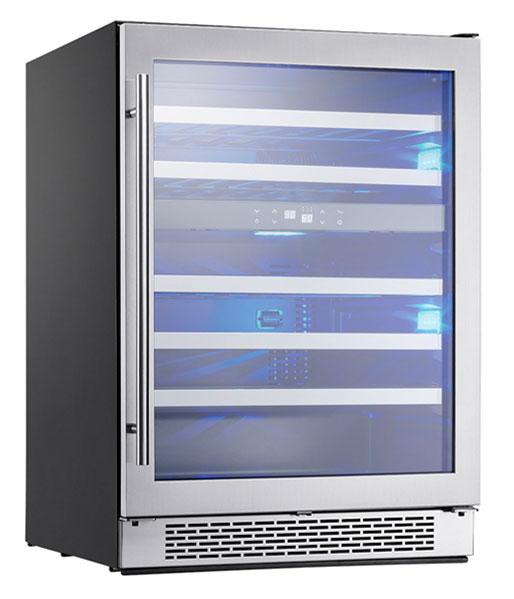 Zephyr Presrv Stainless Steel Dual Zone Wine Cooler