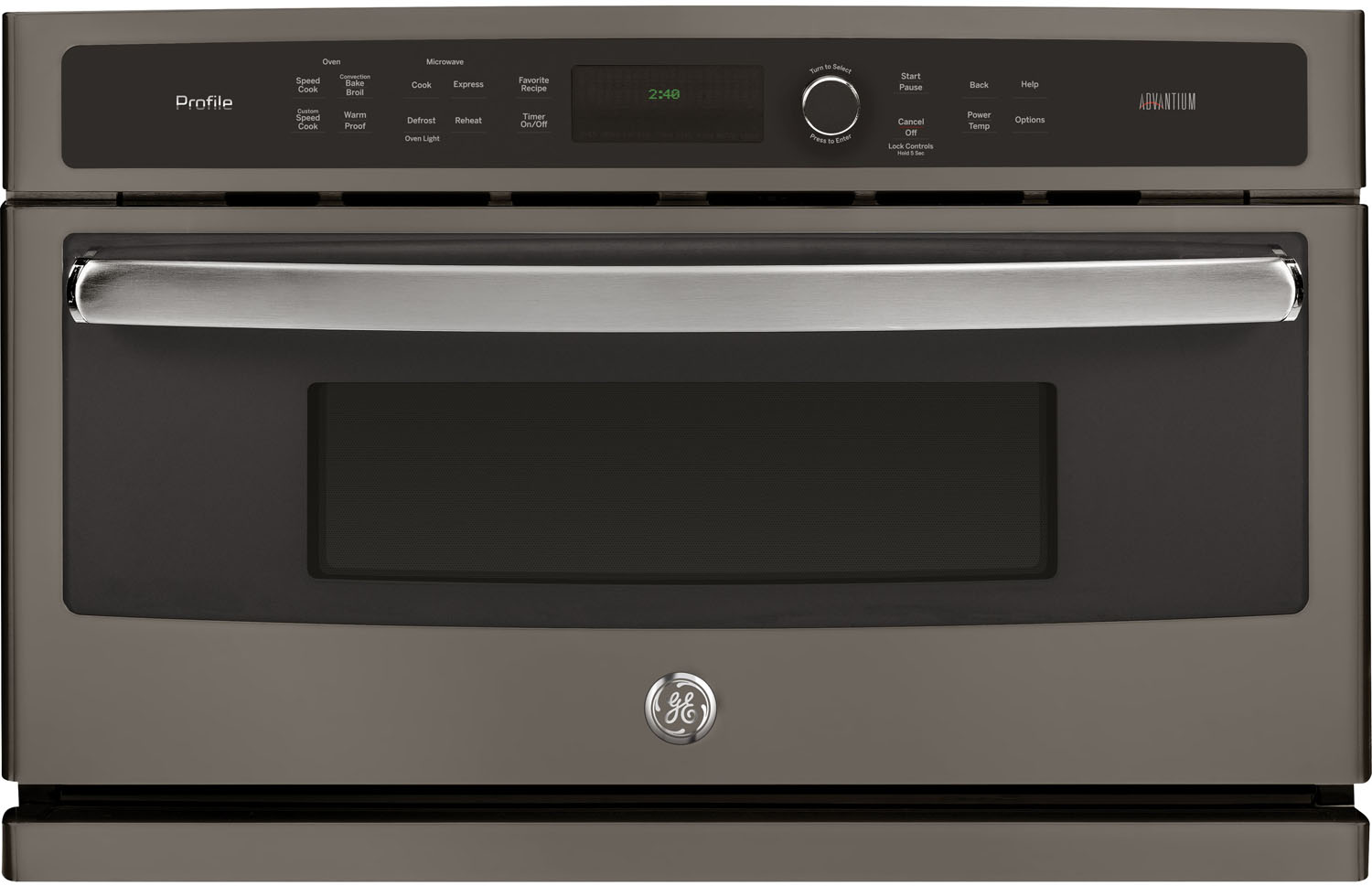 """GE Profile 30"""" Slate Built-In Single Wall Oven"""