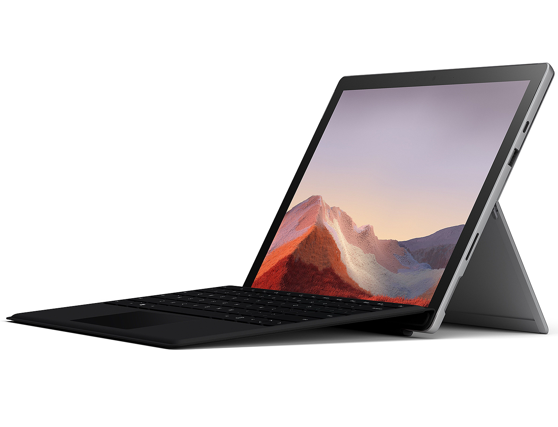 Microsoft Surface Pro 7 12.3     128GB i5 Platinum Tablet Computer Bundle QWU-00001