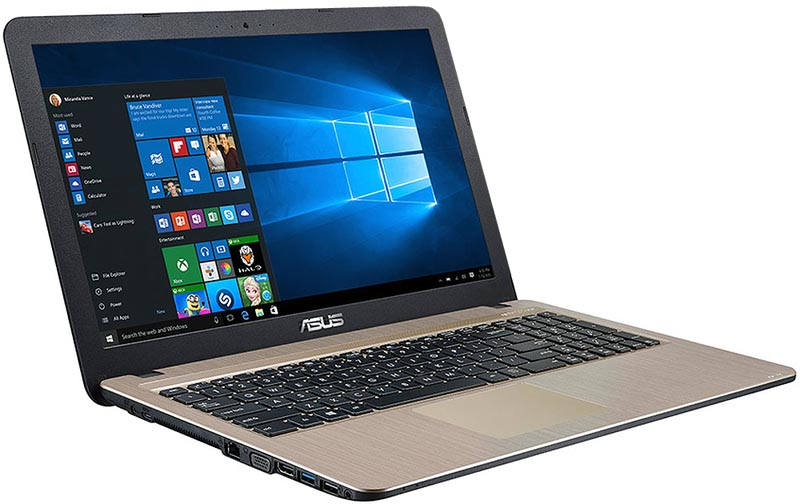 Asus R540 Chocolate Black Laptop Computer