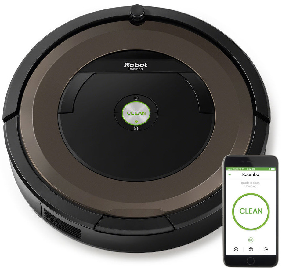 Irobot Roomba 890 Wi Fi Connected Vacuuming Robot R890020