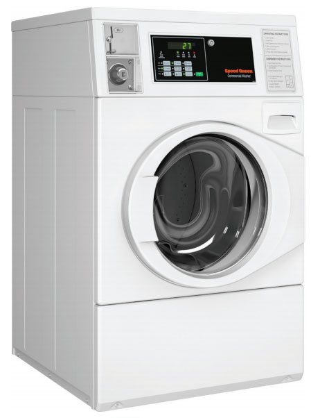 SPEED QUEEN White Commercial Front Load Washer