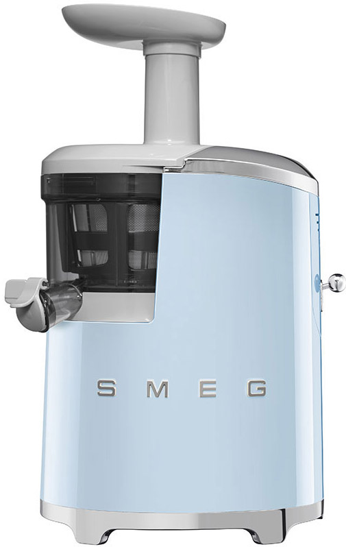 Smeg 50's Retro Style Pastel Blue Slow Juicer