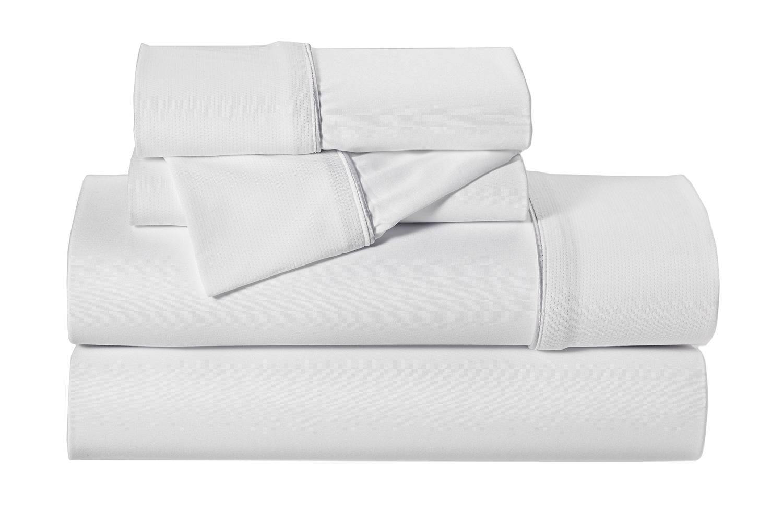 Bedgear Dri Tec Grey Queen Pillowcase Set