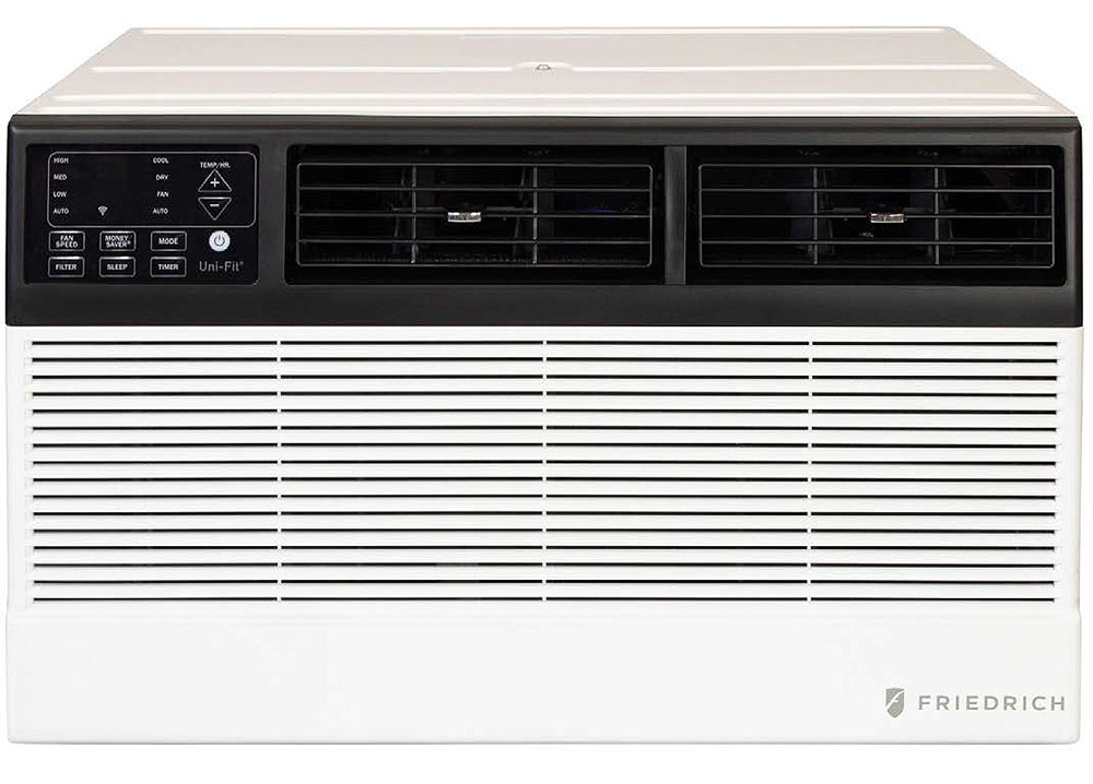 Friedrich Uni-Fit 10,000 BTU 10.7 EER 230V Smart Thru-The-Wall Air Conditioner