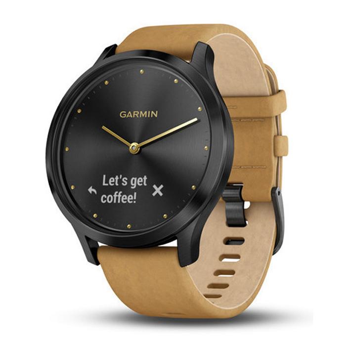 Garmin Vivomove Hr Onyx Black Smartwatch 010 01850 10